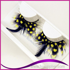 Feather Plume Party False eyelashes