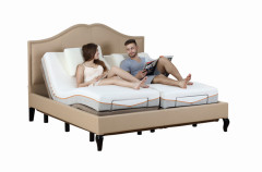 Comfort Furniture Electric Bed Adjustable Bed with Massage Function