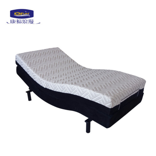 Fashionable Electric Bed Adjustable Bed with Massage Function