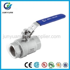 2PC ECONOMICAL TYPE STAINLESS STEEL BALL VALVE