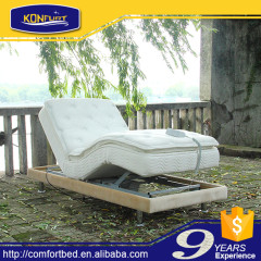 Outdoor Activities Electric Bed Adjustable Bed with Bed Skirt
