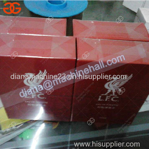 Automatic Shisha Pack Cellophane Overwrapping Packing Machine