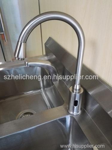 High goose neck faucet