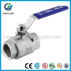 2PC HEAVY TYPE STAINLESS STEEL BALL VALVE