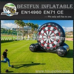 inflatable target football wall