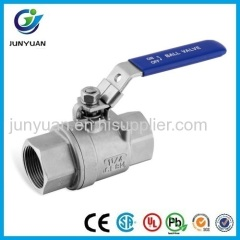 DIN3202-M3 STAINLESS STEEL BALL VALVE WITH HANDLE