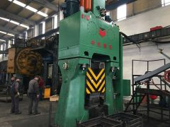 Door Hinges forge on C88K Electro Hydarulic Die Forging Hammer 2.5tons in Turkey