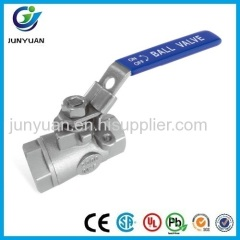 200OPSI REDUCED PORT STAINLESS STEEL BALL VALVE