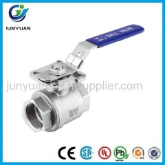F/F STAINLESS STEEL BALL VALVE WITH ISO5211