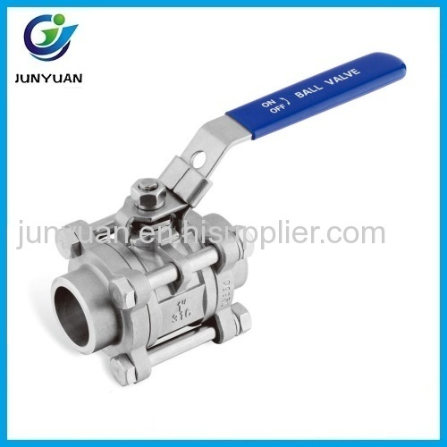 BUTT WELD BALL VALVE