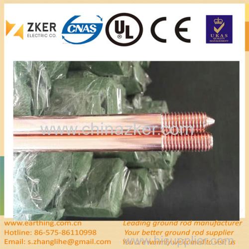 copper weld steel grounding rod price