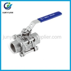 DIN3202-M3 LENGTH STAINLESS STEEL BALL VALVE