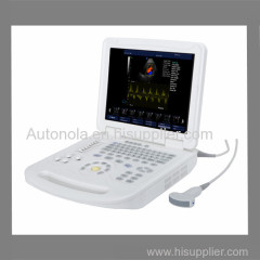 Newest ATNL-6800 Full-digital Notebook Color Doppler System and convex arrray probe
