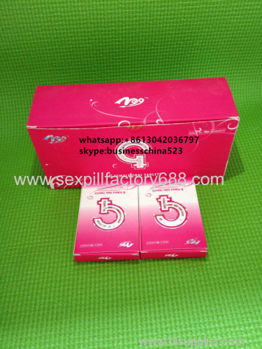 natural hot selling female tablets G-PILLS with good price