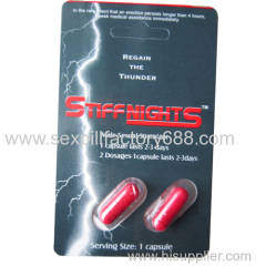 48 capusles stiff nights male sexual stimulant