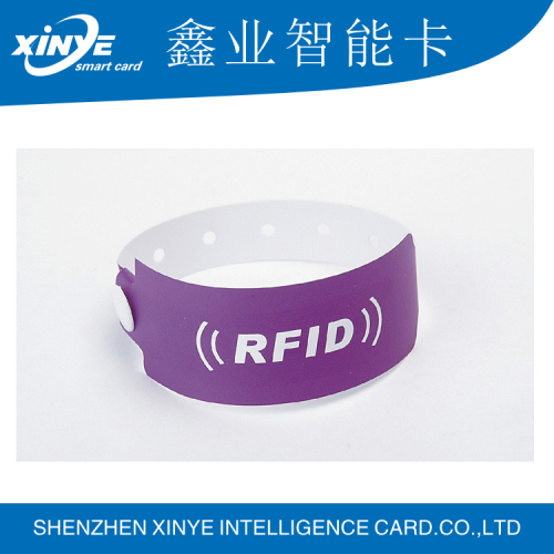 Printable Ntag213/203 disposable rfid wristband