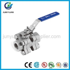 3000PSI REDUCED PORT STAINLESS STEEL BALL VALVE
