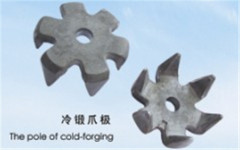 China Claw Poles forging manufacturer Suppliers OEM Precision Forging alternator parts for cold-formed forged parts
