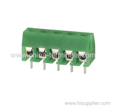 Conector regleta 300V 7A PCB echada 3,96 mm.