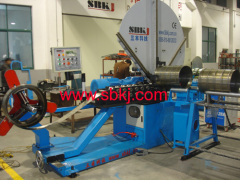 Spiral Pipe Manufacturing Machine