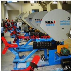 Spiral Tube Forming Machine for Round Air Duct Making