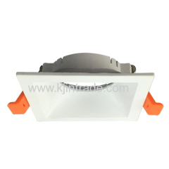 New tooling square spot light downlight MR16 plastic body fixed