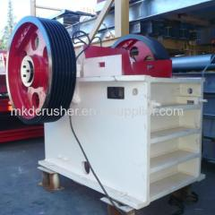 Capaciteit 50-80tph Jaw Crusher PE500 × 750