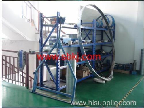 spiral wound ducting machine