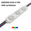 smd2835 3leds 0.72W RGB led module for outdoor decoration