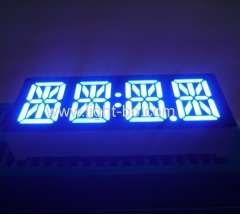 "4 digit blue 14 segment; 4 digit 0.47"" 14 segment; 14 segment led display ;4 digit 14 segment"
