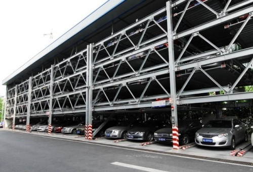 Five storey car parking automation garage