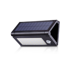 Energy saving ABS shell solar wall light with IP65
