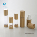 PP plastic airless bottle with bamboo cover