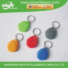 Custom-made Color PVC T5577 RFID Keyfob for access control system