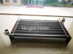 Wall hung boiler primary heat exchanger