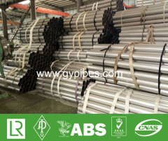 SUS304L Erw Stainless Steel Metal Pipes