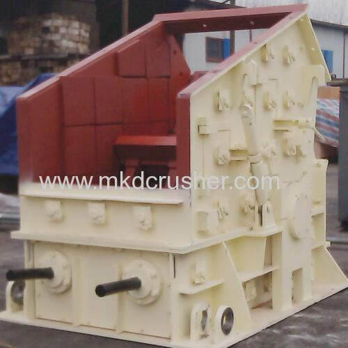 Rotor Impact Crusher With Turn Round Hammer Plates