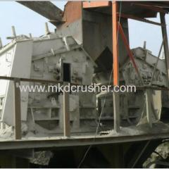 Impact Crusher gebruikt in Quarry Crushing Plant