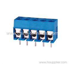 Electrical circuit terminal block
