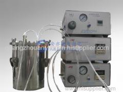 High precision liquid filling and spraying valve