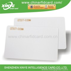 Low frequency PVC chip card