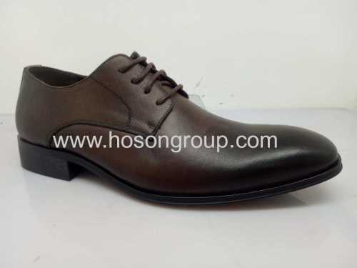 Fashion brown mens oxfords lace shoes