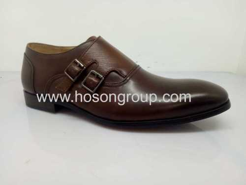 Oxfords mens fashion buckle office shoes