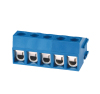 ROHS blue color 5.0mm pitch pcb screw terminal block