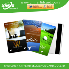 125khz low frequency matte finish em4450 rfid vip card