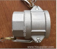 Aluminum Camlock Fitting Type D Female Coupler X Female Thread