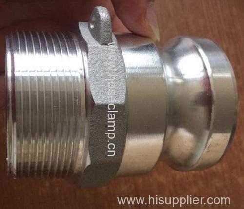 Aluminium camlock hose coupling