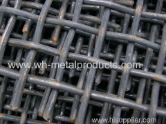 black steel wire screen/spring steel wire screen/manganese steel wire screen