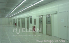 Semiconductor industry modular clean room
