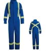 EN11612 fireproof cotton nylon coverall